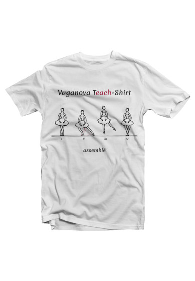 VAGANOVA T(EACH)-SHIRT: ASSEMBLE ΤΗΣ POINTE.GR