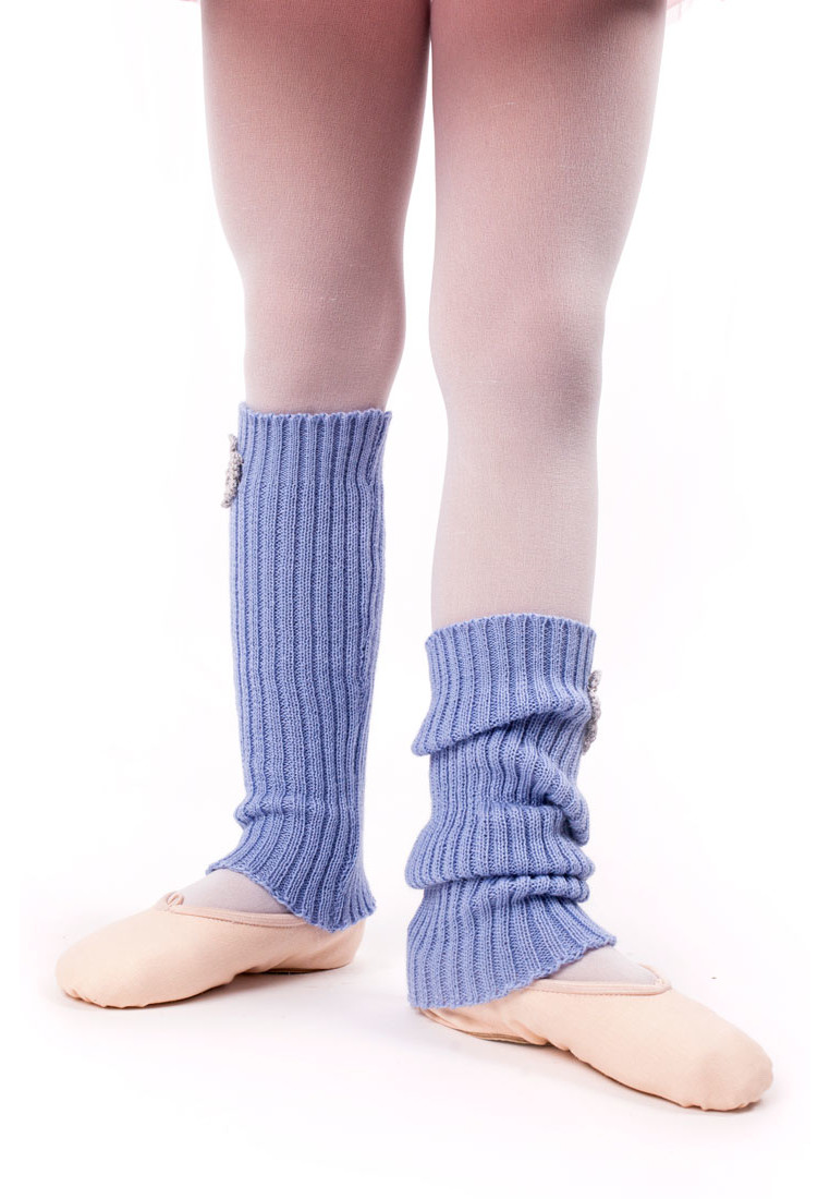 LEGWARMERS FOR KIDS WITH FLOWER BY TANOK 2